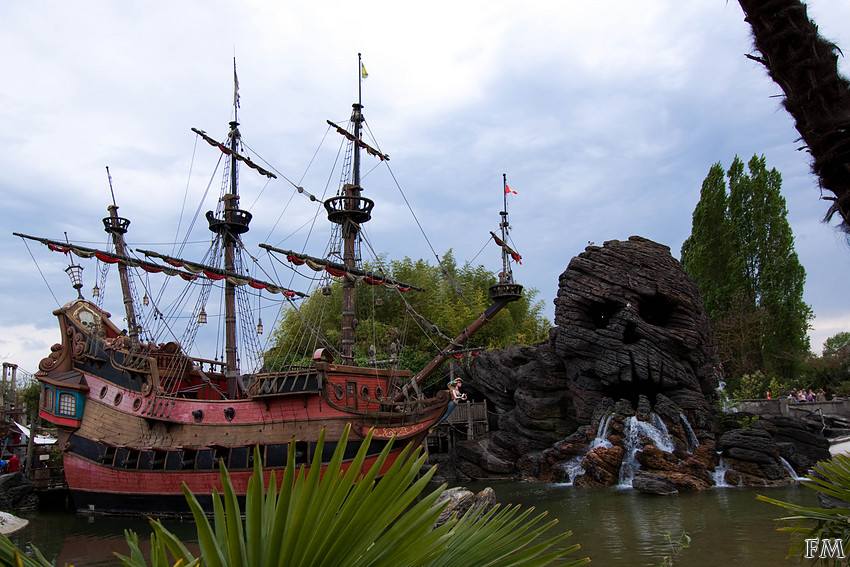 Captain Hook's Galley & Skull Rock